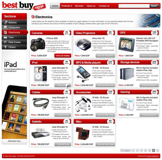 Best buy egypt innovix solutions for Best website for online store