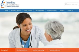 Medina Medical Services Website