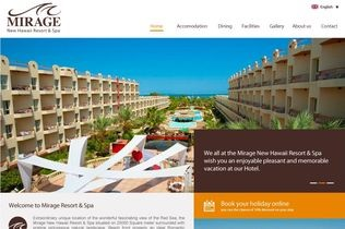 Mirage Resort & Spa Website