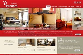 Red Sea Interiors Website