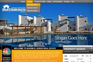 Sharm el Sheikh Real Estate Website