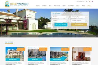 Home Vacation Home Page featured