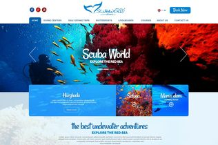 Scuba world divers featured