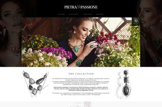 Pietra Landing Page - featured