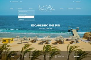 Viva Blue Resort & Diving website