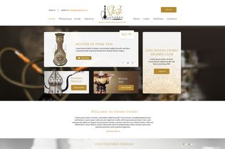 Shisha Stores Website by Innovix Solutions