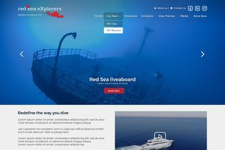 Red Sea Explorers Website